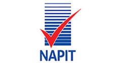 Napit logo on white background